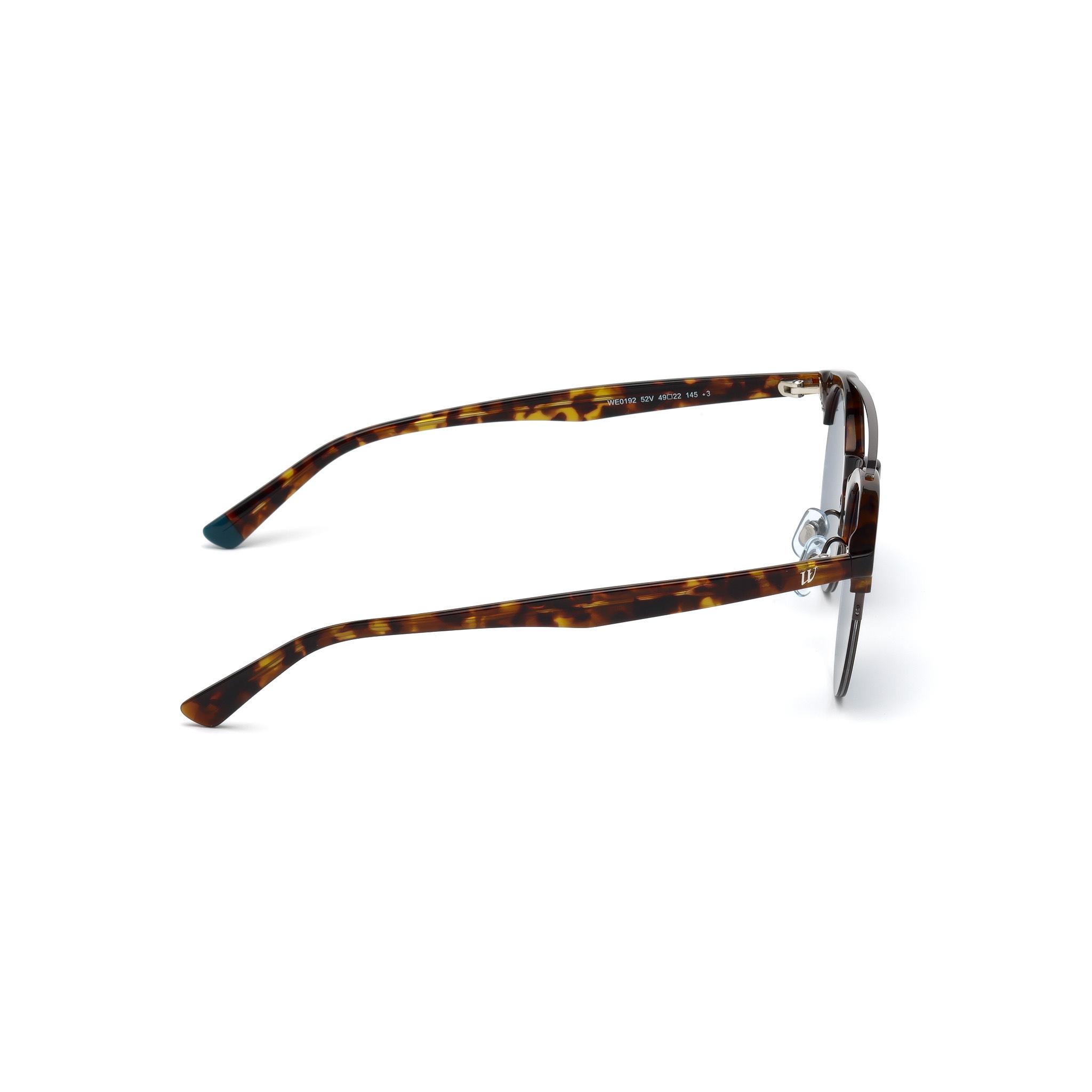 lunettes non optiques HEEFEN 4 paires de lunettes rondes r/étro monture unisexe en m/étal monture de lentille claire montures de lunettes